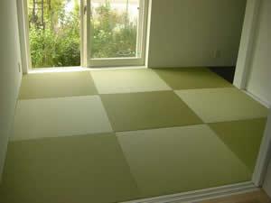 琉球畳の施工例 張替え取替えのご用命は小西のたたみ屋さん